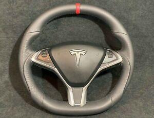TESLA Model S Model X  SPORT STEERING WHEEL Customized p100d p90