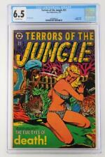 Terrors of the Jungle #21 - CGC 6.5 FN+ Star 1953 - Used in POP!