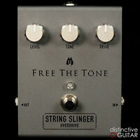 NEW FREE THE TONE SS-1V STRING SLINGER BLACKFACE OVERDRIVE ELECTRIC GUITAR PEDAL