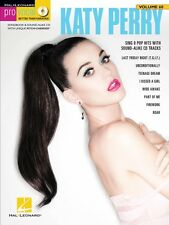 Katy Perry Pro Vocal Women's Edition Volume 60 Pro Vocal Book and CD 000109374