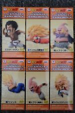 DRAGONBALL Z  WCF ANIME 30TH VOL 3 HISTORICAL CHARACTER 6 PIECE FIGURE SET NEW