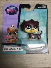 NEW Littlest Petshop LPS Hasbro Dara Longville Dachshund Puppy Dog #84 Toy