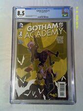 "GOTHAM ACADEMY 1 CGC 8.5 ( 1st MAI ""MAPS"" MIZOGUCHI) DC COMICS 2014"