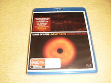 KINGS OF LEON Live At The O2 London England 2009 BLU RAY DVD NEW SEALED REGION B
