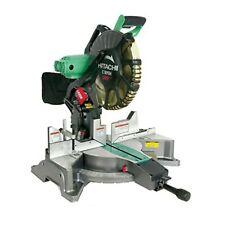 Metabo HPT/Hitachi C12FDH 15-Amp 12-inch Dual Bevel Miter Saw w/ Laser Guide