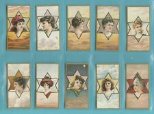 More details for beauties - nostalgia repros  (of baker) - 50 sets of 25  -  star  girls  cards