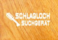 SCHLAGLOCH SUCHGERÄT Aufkleber Sticker Gewindefahrwerk Spruch Fun Tuning Decal