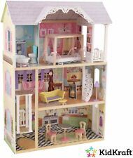 KidKraft Kaylee Wooden 3 Tier Dolls House - Classic Mansion.