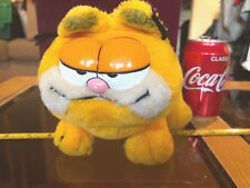 Garfield Cat Soft Toy Original Missing Tag Belly Rip Rare 1980's Vintage