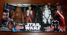 "STAR WARS THE FORCE AWAKENS 12"" Action Figure Set Of 6 ~Finn~Kylo Ren~MORE NIB"