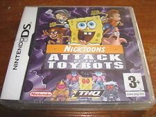 NICKTOONS ATTACK OF THE TOYBOTS ** NEW & SEALED **  Nintendo Ds Game