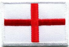 Flag of England St George's Cross applique iron-on patch Medium S-1251