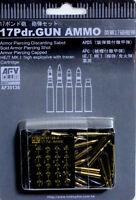 AFV Club 1/35 AF35138 WWII British 17 Pdr. Gun Ammo (Metal Ammo)