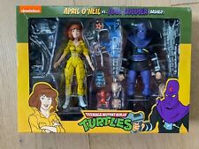 NECA Nickelodeon APRIL O?NEIL Vs FOOT SOLDIER 2 Pack TMNT