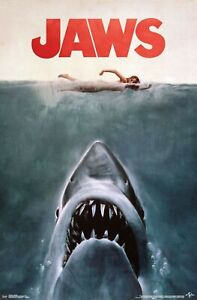 JAWS - CLASSIC ONE SHEET - MOVIE POSTER - 22x34 - 17839