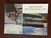 b1v postcard unused royal mail south devon ferry services