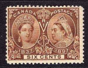 CANADA 1897 Jubilee 6c Mint SG 129 Sc 55 £140 in SG
