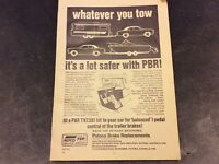 Advertisement - Paton's Brake Replacements OR NRMA Insurance - 1977