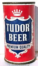 Empty Tudor Beer Punch-Top Can From Norfolk, Virginia With Nc Tax Lid
