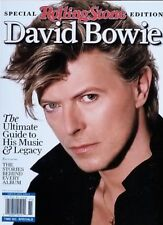 DAVID BOWIE ROLLING STONE SPECIAL EDITION MAGAZINE GUIDE TO HIS MUSIC 2018 NEW..