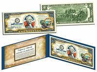 CALIFORNIA $2 Statehood CA State Two-Dollar U.S. Bill *Genuine Legal Tender*