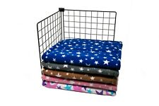 """MIDWEST Fleece Cage Liner 47"""" x 24"""" 100% NATURAL COTTON WADDING, Guinea Pig"""