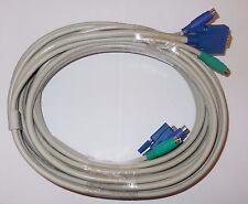 KVM Kombikabel 5m VGA m/w PS/2 m/m TOP