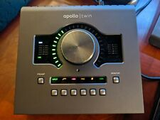 Universal Audio Apollo Twin MKII QUAD THUNDERBOLT 2 Audio Interface - MINTY