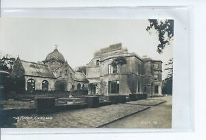 Real photo postcard of the Manor House in Chideock Dorset good condition  Hider