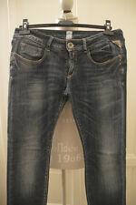 Jeans REPLAY denim vita bassa medium wash blue low waist W29