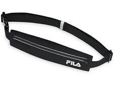 FILA Accessories Stash It Running Pack Storage Belt, Unisex, Black/White,   (05)