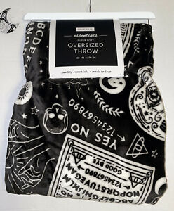 "OUIJA BOARD HALLOWEEN Oversized Throw BLANKET 60"" X 70"" NEW"