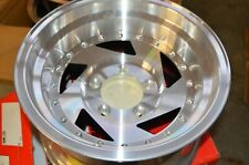15x8  Sendel wheels  Billet style  5x5.5 *Single wheel* NOS *