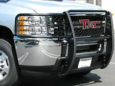 TAC 2008-2012 JEEP LIBERTY (No Headlight Cage) GRILL GUARD BLACK  Brush Bull Bar