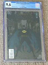Batman Shadow of the Bat 35 CGC 9.6 White Pages- Beautiful Embossed Cover!!
