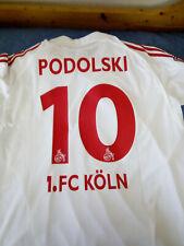 Maglia FC KOLN XL ORIGINALE ADIDAS PODOLSKI