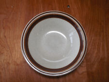 """Trendsetters Stoneware Japan SEPIA 3423 Brown Set of 2 Soup Cereal Bowls 6 3/4"""""""