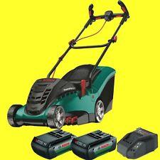 BOSCH Tondeuse à gazon de batterie Rotak 370 LI avec 2 36 VOLT 2,0 + Chargeur