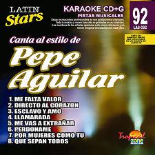 Karaoke Latin Stars 92 Pepe Aguilar Vol. 1