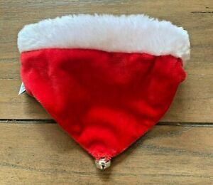 Holiday Dog Bandana - S/M - Red & Green - Bell - Christmas - Outward Hound - NWT