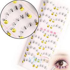 10 Pairs Handmade Thick Under False Eyelashes Makeup Bottom Lower Eye Lashes New