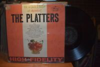 The Platters Life is just a bowl of Cherries LP Mercury MG 20589 Mono