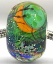 Follow the White Rabbit FOCAL Mandy Ramsdell european charm glass bead lampwork
