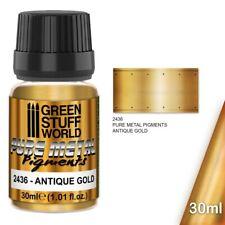 Pigmenti di metalli - Oro antico metallo pigmenti metalli puri warhammer 40K