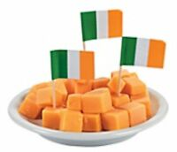 "500 Count Ireland Irish 2.5"" Mini Toothpick Picks Flags"