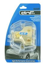 DNF 0/2/4/8 AWG GAUGE CAR AMP POWER GROUND DISTRIBUTION BLOCK 1 IN AND 2 OUT