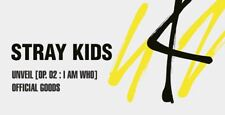 STRAY KIDS UNVEIL [Op. 02 : I am WHO] OFFICIAL GOODS T-SHIRT T-SHIRTS SEALED