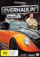 Overhaulin' : Season 7 (DVD, 2015, 3-Disc Set) New  Region 4