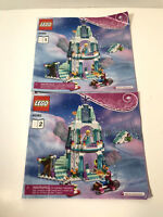 Lego Barbie 41062 Instruction Manual Booklets 1 and 2
