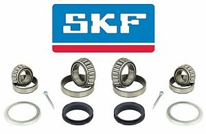 For Volvo 242 245 244 240 242 SET OF 2 SKF Front Wheel Bearing Kits 271391
